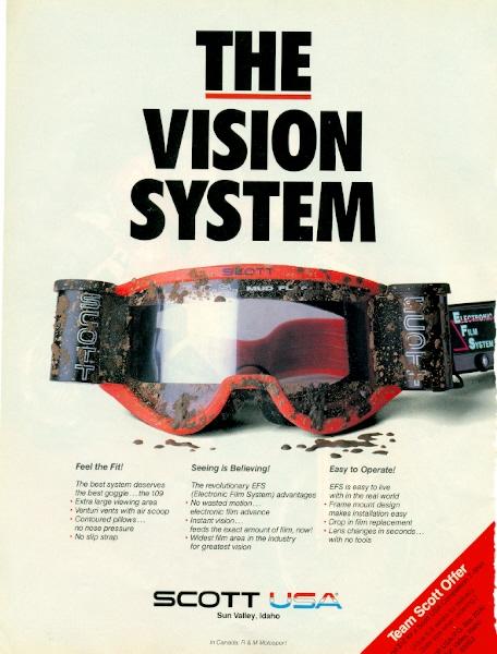 """The vision system"" - Scott"