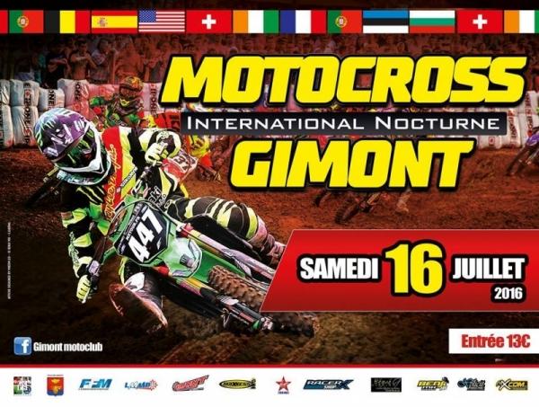 motocross international nocturne gimont moto club samedi 16 juillet 2016. Black Bedroom Furniture Sets. Home Design Ideas