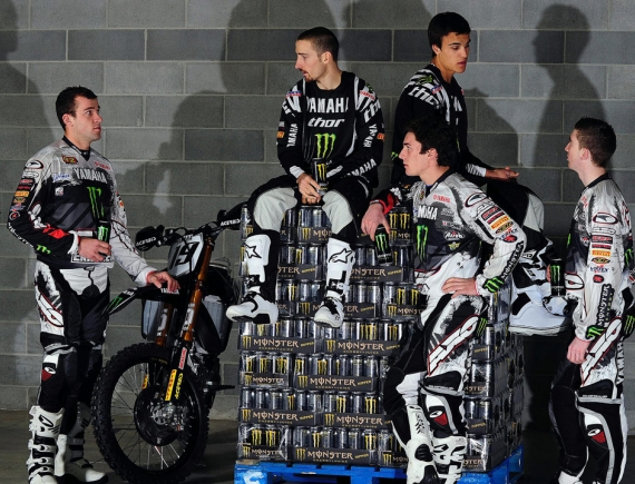 Team Yamaha 2010