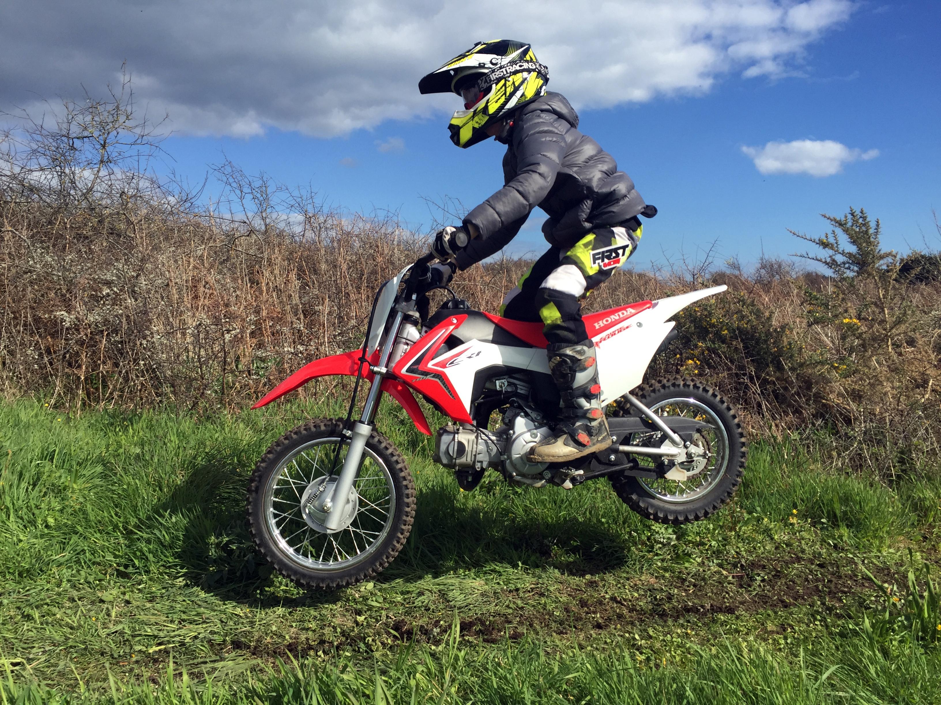 Honda CRF 110 : Si facile !