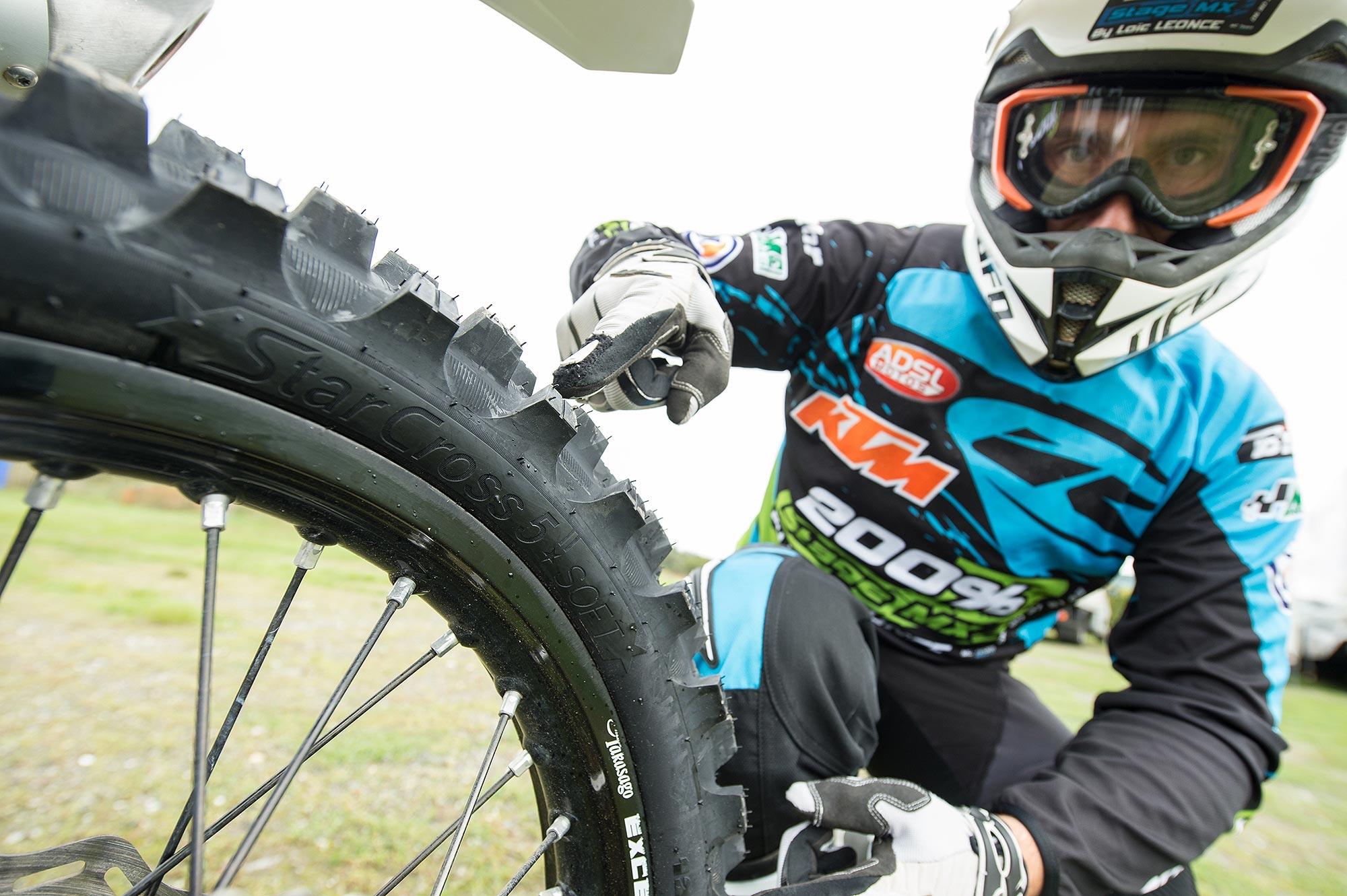 Essai pneus Michelin Starcross 5