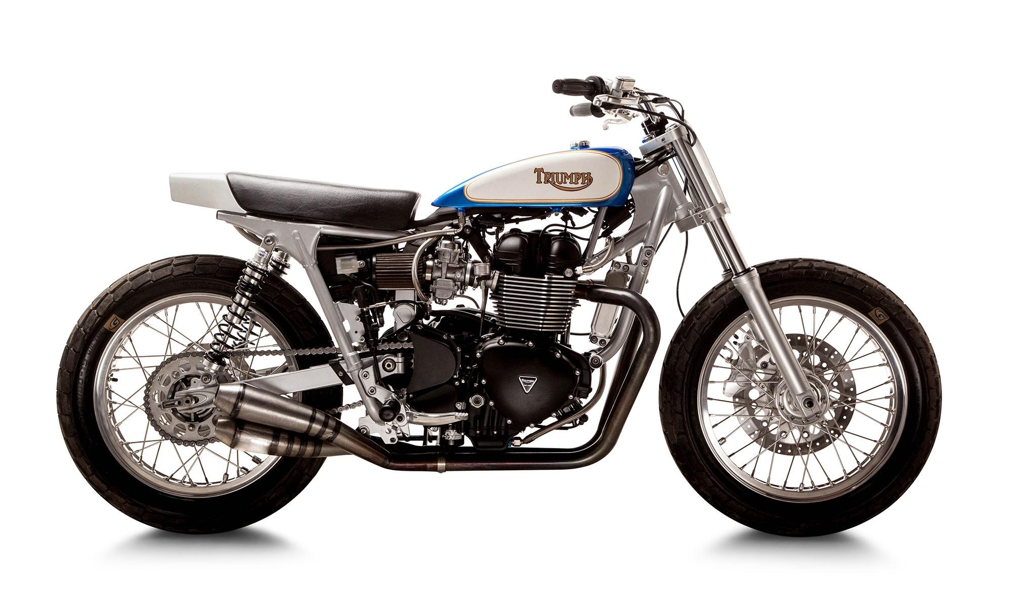 Triumph Bonneville T 100 British Customs & Mule Motorcycles